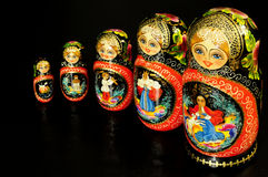 Matryoshka , Russian symbol,toy royalty free stock photos