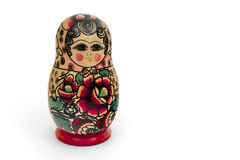 Matryoshka, russian wooden doll Stock Photos