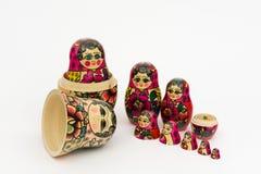 Matryoshka, russian wooden doll Royalty Free Stock Image