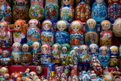 Matryoshka russo Fotografia Stock Libera da Diritti