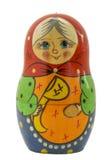 Matryoshka sob a forma da avó Imagem de Stock Royalty Free