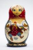 Matryoshka som bygga bo souvenir för ryss för dockababooshkaleksaker Arkivbilder
