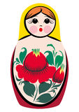 Matryoshka-surprised Stock Images