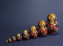 Matryoshka Royalty Free Stock Images