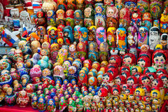 Matryoshkas Royalty Free Stock Images