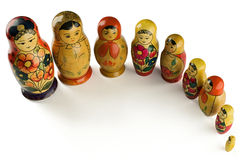 Matryoshkas Royalty Free Stock Photos