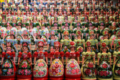 Matryoshkas Stockfoto