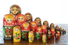 Matryoshkas dolls Royalty Free Stock Photo