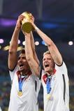 Mats Hummels and André Schürrle Coupe du monde 2014 Royalty Free Stock Photos