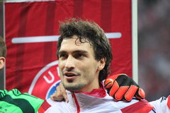Mats Hummels Royalty Free Stock Photos