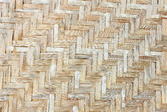 Mats woven from Bamboo Royalty Free Stock Image