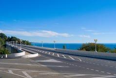 Matsesta Brücke in Sochi Stockbild