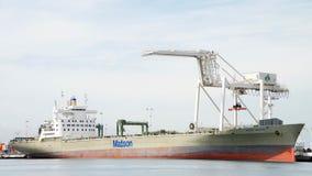 Matson ładunku statku nawigator dokował przy portem Oakland Fotografia Royalty Free