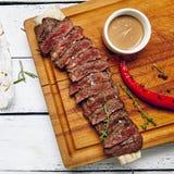 Matställe för nötköttbiff royaltyfri fotografi