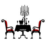 matställeromantiker två Royaltyfria Bilder
