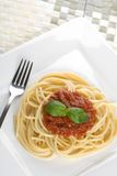 matställespagetti Royaltyfria Bilder