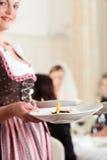 matställedeltagarebröllop Fotografering för Bildbyråer
