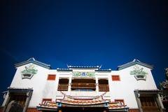 matsu寺庙 免版税图库摄影