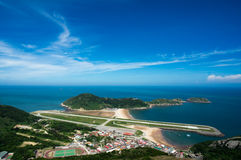 Matsu Beigan Airport. Matau Beigan Airport, Matsu Beigan Airport (馬祖北竿機場) (IATA: MFK, ICAO: RCMT) is one of the airports in Matsu Islands, Lienchiang Royalty Free Stock Images