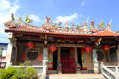 Matsu temple of zengcuoan town, amoy city Royalty Free Stock Image