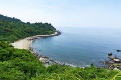 Matsu wyspy wybrzeża linia Obrazy Stock
