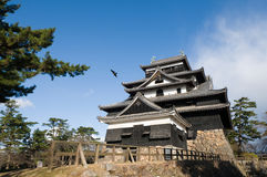 Matsue Castle. Matsue-jo Castle, Shimane Prefecture Japan in its original state Stock Photo