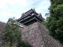Matsue castle. Japan castle Shimane Matsue historical building landmark Stock Images