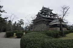 Matsue castle of national treasure in Shimane prefecture. Matsue Castle, a national treasure in Shimane Prefecture, Japan Stock Photography