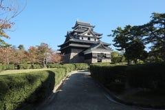 Matsue slott Arkivfoto
