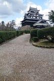 Matsue slott i Matsue Royaltyfria Foton