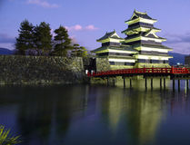Matsumoto Castle 02, twilight, Japan Royalty Free Stock Image