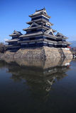 Matsumoto castle. In Nagano from Japan royalty free stock photography
