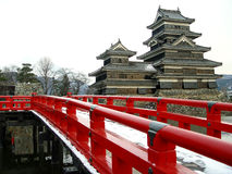 Matsumoto Castle. At Matsumoto-jo in Matsumoto, Japan royalty free stock images