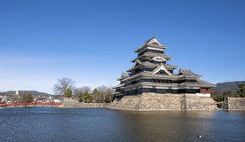 Matsumoto Castle. One of Japan's finest historic castles, built in the 16th century Royalty Free Stock Images