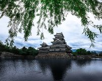 Matsumoto Castle Beautiful medieval of samurai age in the eastern Honshu, Nagano, Japan. Royalty Free Stock Images