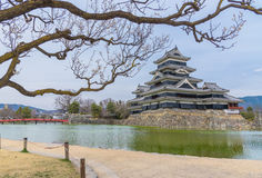 Matsumoto Castle or Crow Castle Stock Image
