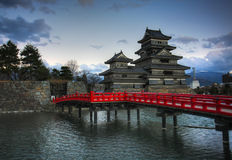 Matsumoto Castle, Japan royalty free stock images