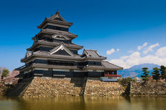 Matsumoto Castle. In Matsumoto, Japan stock image