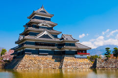 Matsumoto Castle. In Matsumoto, Japan royalty free stock photo