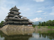 Matsumoto Castle in Japan. Matsumoto Castle found in Nagano Prefecture of Japan Stock Photos