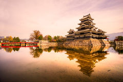 Matsumoto Castle, Japan. Stock Images
