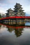 Matsumoto Castle, Japan stock photography