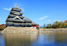 Matsumoto Castle in Japan Stock Image