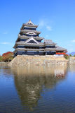 Matsumoto Castle in Japan Stock Photography