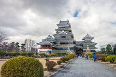 Matsumoto Castle is a Japan's premier historic castles Royalty Free Stock Image
