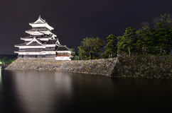 Matsumoto Castle in Matsumoto, Japan Stock Photo