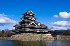 Matsumoto Castle Nagano Japan Stock Image