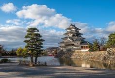 Matsumoto castle, national treasure of Japan Royalty Free Stock Image