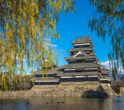 Matsumoto castle, national treasure of Japan Stock Photos