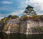 Matsumoto castle, national treasure of Japan Royalty Free Stock Images